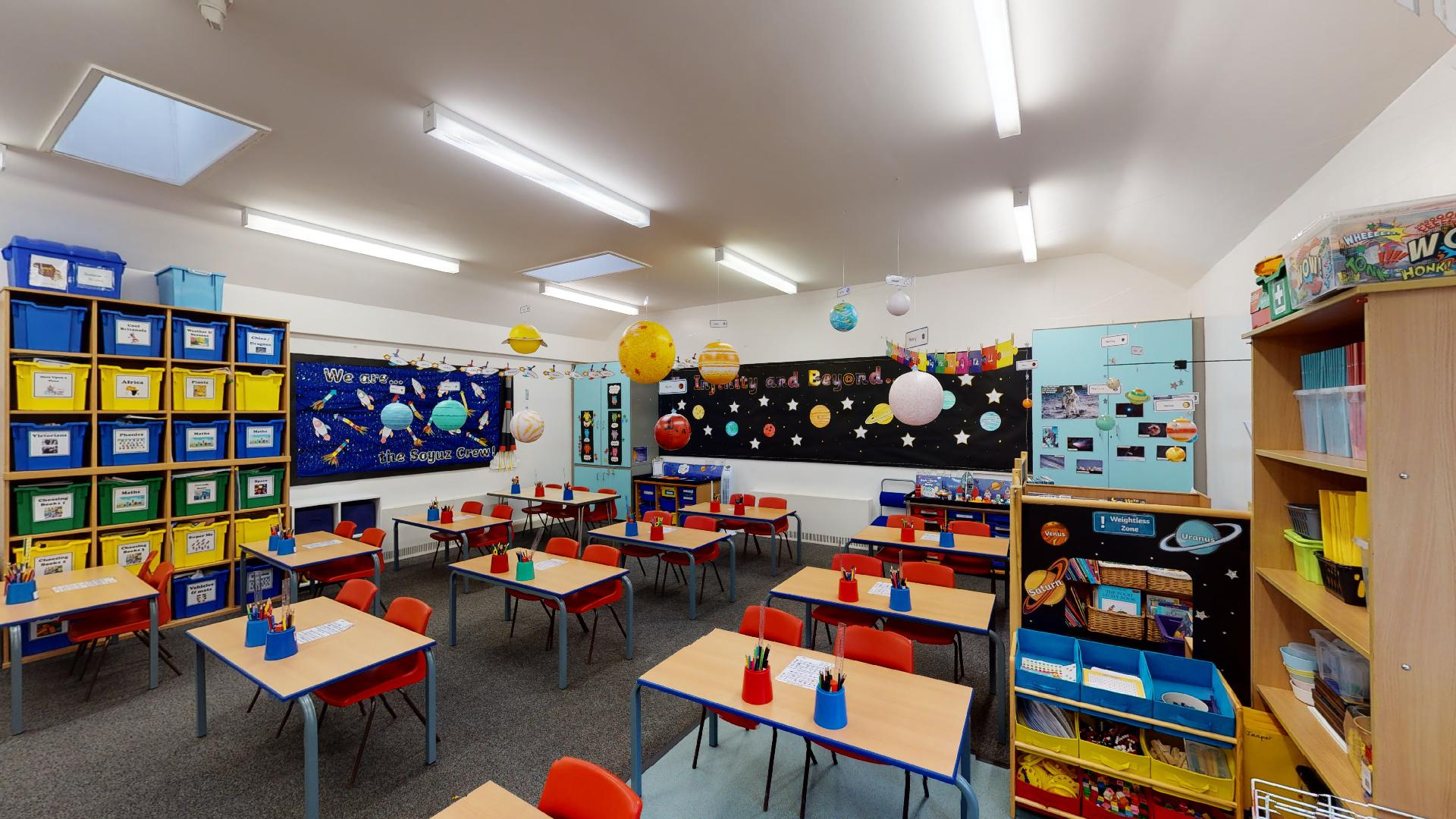 3D virtual school tour
